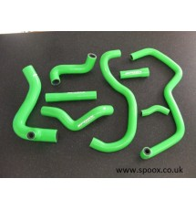 Spoox Racing Developments Peugeot 405 1.9 Mi16 Silicone Oil Breather Hose Kit (GREEN)