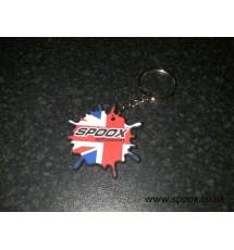 Spoox Motorsport Splat Keyring