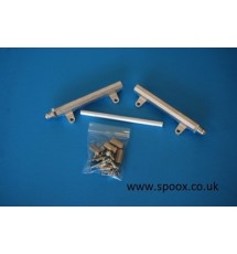Jenvey Alloy Fuel Rail - JIC -6 Fittings - TBR32
