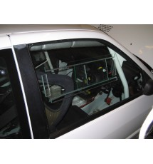 Peugeot 306 Polycarbonate Front Windows with Sliders (4mm Grey Tint)