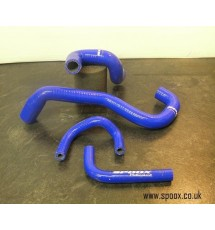 Peugeot 406 Sri Turbo Oil Breather Hose Kit (Blue)