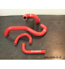 Peugeot 406 Sri Turbo Oil Breather Hose Kit (Red)