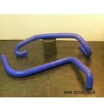 Peugeot 205 GTI SAD Valve Hoses (PAIR) - Blue