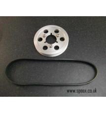Spoox Motorsport Citroen Saxo VTS Billet Bottom Pulley & Belt