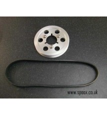 Spoox Motorsport Peugeot 106 GTI Billet Alloy Bottom Pulley & Belt