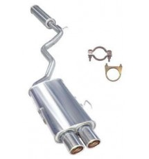 Mongoose S/S Exhaust - Peugeot 106 XSi