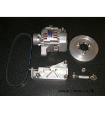 106 Gti Billet Race Alternator Setup