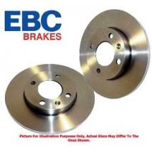 Peugeot 106 Quiksilver EBC Front Brake Discs (PAIR)