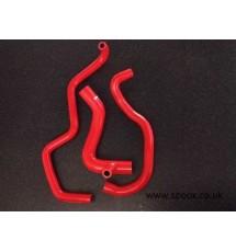 Peugeot 405 1.9 Mi16 Silicone Oil Filler Hose Kit - (RED)