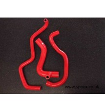 S.R.D Peugeot 405 1.9 16v Mi16 Silicone Oil Filler Hose Kit (YELLOW)