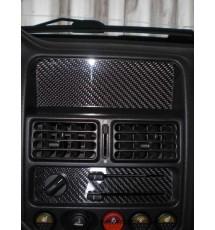 Peugeot 106 Carbon Fibre Stereo Blank