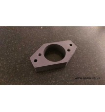 Top Engine Mount Housing - Grey Annodised