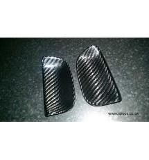 Citroen Saxo Carbon Fibre Door Handle Recess Covers