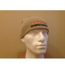 Team Spoox Motorsport Cream Beanie Hat