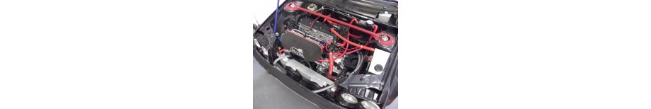 Peugeot 405 Mi16 Silicone Coolant Hoses